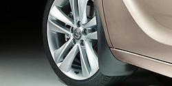 Брызговики передние Opel Meriva B