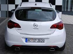 Глушитель Opel Astra J Хэтчбек на две стороны с двумя насадками ко всем двигателям