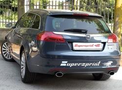Глушитель Opel Insignia на две стороны с двумя насадками к двигателям 2,0i Turbo 4x4