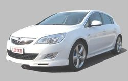 Обвес на Opel Astra J Хэтчбек (дорестайлинг) от компании Lester