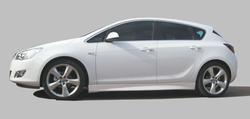 Пороги Opel Astra J Хэтчбек (дорестайлинг) линия F