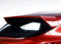 Спойлер на крышу Opel Astra J GTC