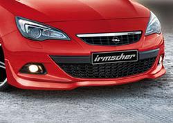 Накладка на бампер передний Opel Astra J GTC