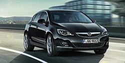 Обвес на Opel Astra J Sports Tourer (дорестайлинг) от компании Opel в стиле OPC Line I без выреза в бампере под глушитель