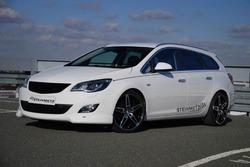 Обвес на Opel Astra J Spotrs Tourer (дорестайлинг) от компании Steinmetz