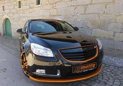 Накладка на бампер передний Opel Insignia