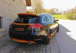 Накладка на бампер задний Opel Insignia