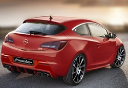 Пороги Opel Astra J GTC