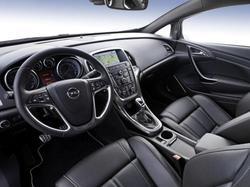Руль для Opel Astra J GTC в стиле OPC Line c подогревом