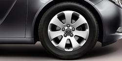Диски литые R17 легкосплавные дизайн 7 лучей для Opel Insignia