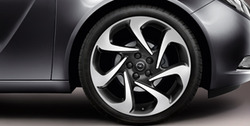 Диски литые R20 легкосплавные дизайн 7 роторных лучей для Opel Insignia