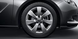 Диски литые R18 легкосплавные дизайн 7 лучей для Opel Astra J GTC