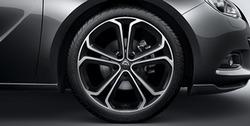 Диски литые R20 легкосплавные дизайн 5 Y-образных лучей для Opel Astra J GTC