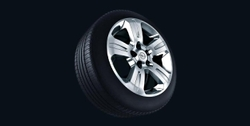 Диски литые R17 легкосплавные дизайн 5 лучей для Opel Antara