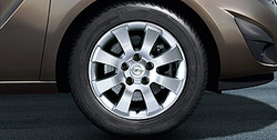 Диски литые R15 легкосплавные дизайн 8 лучей для Opel Astra H, Opel Meriva B, Opel Zafira B