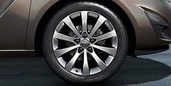Диски литые R17 легкосплавные дизайн 10 лучей для Opel Meriva B