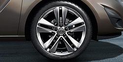 Диски литые R18 легкосплавные дизайн 5 двойных лучей для Opel Meriva B