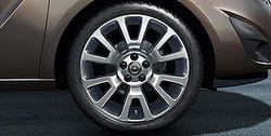 Диски литые R18 легкосплавные с покрытием Bi-colour дизайн 6 V-образных лучей для Opel Meriva B, Opel Zafira B