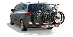 Крепление для велосипеда заднее на буксировочной сцепке