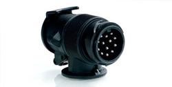 Адаптер для тягово-сцепного устройства с 13-7-контактными разъемами