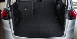 Ковровое покрытие в багажник Opel Zafira Tourer черного цвета