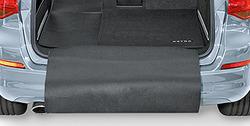 Ковровое покрытие в багажник Opel Astra J Sports Tourer черного цвета