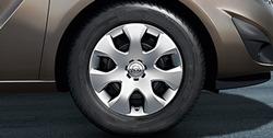 Колпак колеса Opel Meriva B R17 дизайн 7 спиц