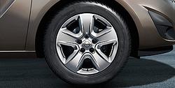 Колпак колеса Opel H Хэтчбек, Седан, Универсал, GTC, Opel Meriva B, Opel Zafira B R16 дизайн 5 спиц