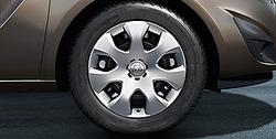 Колпак колеса Opel Meriva B R16 дизайн 7 спиц