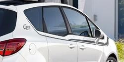 Акцентные полосы экстерьера Opel Meriva B черного цвета