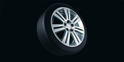 Диски литые R16 легкосплавные дизайн 7 двойных лучей для Opel Astra H, Opel Vectra C, Opel Zafira B