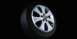 Диски литые R16 легкосплавные дизайн 7 лучей с покрытием Sterling Silver для Opel Astra H, Opel Vectra C, Opel Zafira B