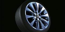 Диски литые R16 легкосплавные дизайн 10 лучей с покрытием Silver для Opel Astra H, Opel Zafira B