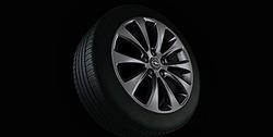 Диски литые R16 легкосплавные дизайн 10 лучей с покрытием Titan для Opel Astra H