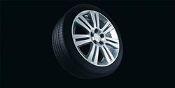 Диски литые R16 легкосплавные дизайн 7 двойных лучей с покрытием Sterling Silver для Opel Astra H