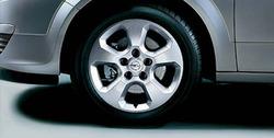 Диски литые R16 легкосплавные дизайн 5 лучей ``Sport 1`` с покрытием Sterling Silver для Opel Astra H, Opel Zafira B