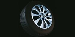 Диски литые R16 легкосплавные дизайн 10 лучей с покрытием Silver для Opel Astra H