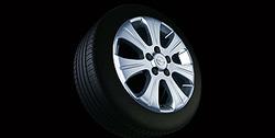 Диски литые R17 легкосплавные дизайн 7 лучей с покрытием Silver для Opel Astra H, Opel Vectra C, Opel Zafira B