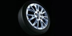 Диски литые R17 легкосплавные дизайн 7 V-образных лучей с покрытием Silver для Opel Astra H, Opel Zafira B