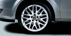 Диски литые R18 легкосплавные дизайн OPC Line 9 V-образных лучей с покрытием Silver для Opel Astra H, Opel Zafira B