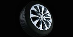 Диски литые R17 легкосплавные дизайн 10 лучей с покрытием Silver для Opel Zafira B