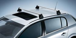 Багажные дуги для Opel Vectra C Универсал без рейлингов