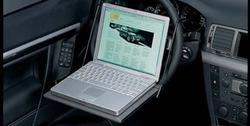 Подставка для ноутбука на руль