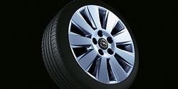 Диски литые R16 легкосплавные дизайн 9 лучей с покрытием Sterling Silver для Opel Vectra C