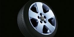 Диски литые R16 легкосплавные дизайн 5 лучей с покрытием Sterling Silver для Opel Vectra C