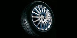 Диски литые R17 легкосплавные дизайн 16 лучей с покрытием Sterling Silver для Opel Vectra C