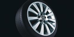 Диски литые R18 легкосплавные дизайн 11 лучей с покрытием Sterling Silver для Opel Vectra C