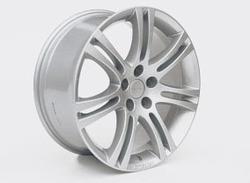 Диски литые R16 легкосплавные серебристые дизайн Stila-Design для Opel Astra J, Opel Zafira Tourer c бензиновыми двигателями 1,4 л, 1,4T л и 1,6 л, дизельными двигателями 1,3 л