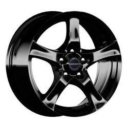 Диски литые R16 легкосплавные дизайн F black glossy для Opel Mokka