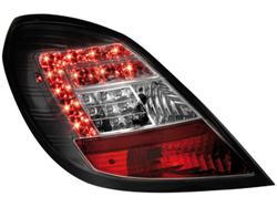 Фонари задние Opel Corsa D 5-дверная черные LED